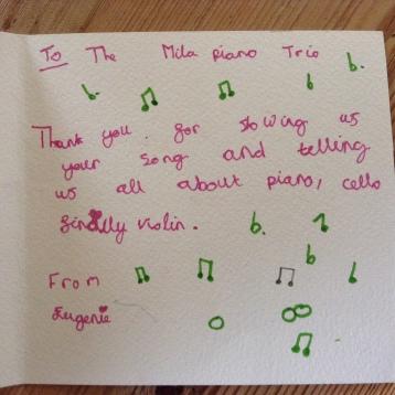 Mila Trio Card
